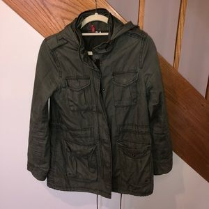 Army Green H&M Jacket